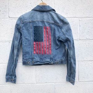 Levi's American Flag Denim Jacket